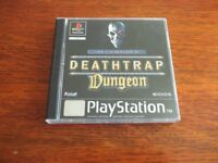 PLAYSTATION 1 DEATHTRAP DUNGEON EXCELLENT CONDITION