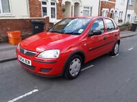 Vauxhall corsa(2004)5dr.full service history. IDEAL 1ST CAR.very low tax&insurance