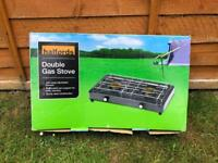 Camping double gas stove