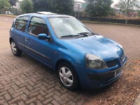 Renault Clio 1.2 16v Expression + QS5 3dr (SUNROOF) (AUTOMATIC) (MOT UNTIL OCTOBER 2018) 2002