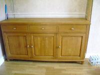 Light oak Solid wood sideboard