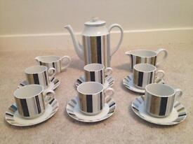 1960's complete coffee set for 6