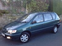 TOYOTA PICNIC 2.0 GLS PETROL 5 DOORS AUTO GREEN ** TWIN SUNROOFS!!! ** AIR CON!!! (A/C)!!! **