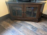 TV television table unit stand corner