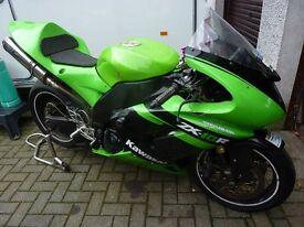 Kawasaki ZX10 track bike