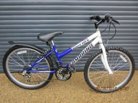GIRLS REFLEX BIKE IN EXCELLENT USED CONDITION HAVING HAD LITTLE USE.. (SUIT APPROX AGE 8 / 9+)..