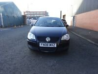 2008 volkswagon polo 1.4 diesel.full deller service history,1 owner,full year mot