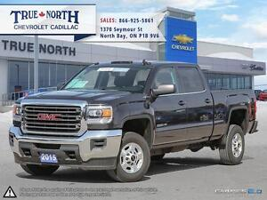 2015 GMC SIERRA 2500HD SLE CREW 4WD - PREVIOUS DAILY RENTAL