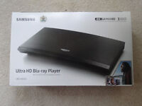 Brand new and still sealed Samsung Ultra HD 4k Blu-Ray Player UBD-K8500