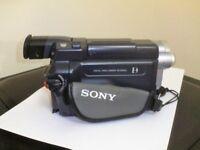 Sony Digital Handicam DCR-TRV24E PAL + Wide-angle Lens