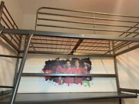 Ikea Svarta loft bed and desk (RRP £195)