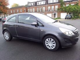 Vauxhall Corsa 1.2 Exclusiv AC 2012 12 reg 39000 miles Long MOT Newer Model Beautiful Metallic Grey