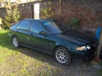 2003 MG ZS hatchback