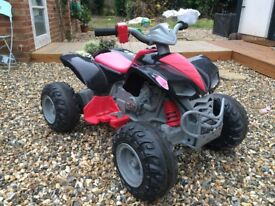 Kids Electric Quad bike 12v Good condition super fun 2 speeds easy to ride, forward and reverse