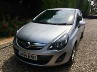 Vauxhall Corsa Sportive CDTI. Year 2014, great condition, been used as a private vehicle since new
