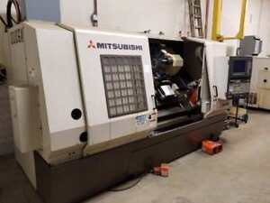 "Mitgsubishi CNC lathe 15"" chuck, 60"" center distance.As new condition."