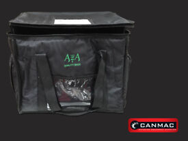 """Insulated Delivery Bag Large Black """"AZA"""" - 36X44X33CM"""