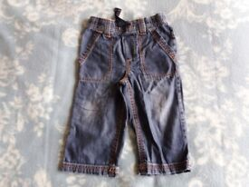 Next Jeans Nearly New 12-18 months Baby Children's Clothes