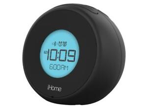 iHome IBT18BC Bluetooth Dual Alarm Clock with Speakerphone & USB (New Other)