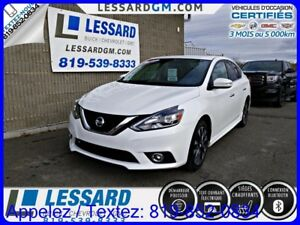 2017 NISSAN SENTRA SR TURBO, NAVIGATION , DETECTION ANGLE MORT,