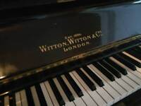 Witton Witton & Co. / Witton Wells London Upright Piano