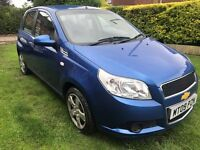 Fantastic Value And Great Condition 2009 Aveo 1.2 LS 5 Dr Hatchback Only 34000 Miles Air Con HPI