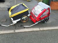 2 ×cycle trailers