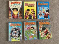 6 Beano & 2 Bash street kids Annuals £7 or individually £1