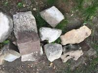 Used rockery rocks stones
