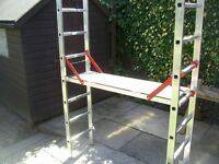 YOUNGMANN DIY PRO DECK COMBINATION WORK PLATFORM LADDERS AND STEPS