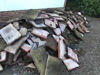 FREE - Rubble-broken slabs