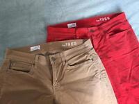 Women's GAP skinny and legging jean - 29/30 waist