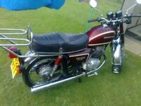 1984 honda 200t benly motorcycle