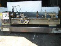 HARRISON M400 GAP BED CENTRE LATHE 80 INCH