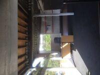 Large garage workshop Mot Station with Car sales Showroom & Forecourt with land