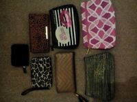Ladies Purse/Wallet/Make up bags job lot