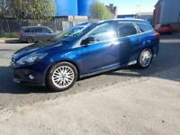 2013 13reg Ford Focus Zetec 1.6 tdci Estate Blue