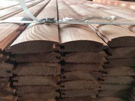 loglap timber cladding log lap shiplap Premium THICKNESS 90x25 treated