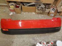 Mk6 fiesta finesse rear bumper red