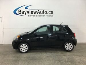 2016 Nissan Micra SV - BLUETOOTH! CRUISE! A/C! PWR GROUP!