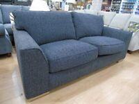 Barley Graphite 3 Seat Sofa
