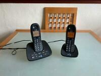 BT 1500 Twin Cordless Phones - Answer machine (Delivery Available)