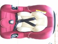 Mothercare Baby Car Seat - Red