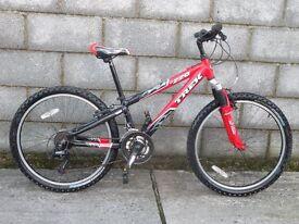 red bike 24''trek alloy frame