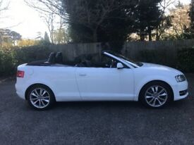 Audi A3 cabriolet 1.6 tdi 2013 lovely car,2 keys,part-exchange welcome.aa/rac welcome £30 road tax