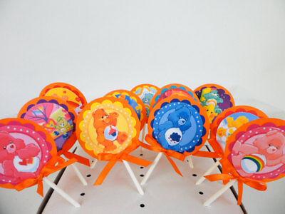 Care Bear Cupcake Toppers. Cake decor.  SET OF 10