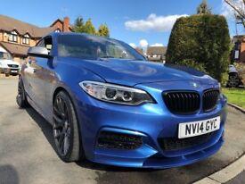 BMW M235I 2 SERIES 3.0 M PERFORMANCE AUTOVOGUE SAT NAV FABSPEED MODIFIED