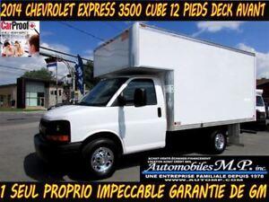 2014 Chevrolet Express 3500 CUBE 12 PIEDS DECK AVANT COMME UN NE