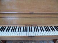upright piano by j broadwood -superb-