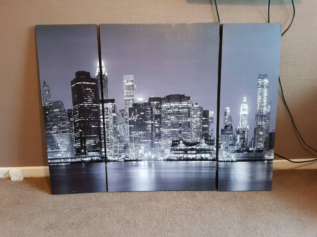 New York landscape canvas